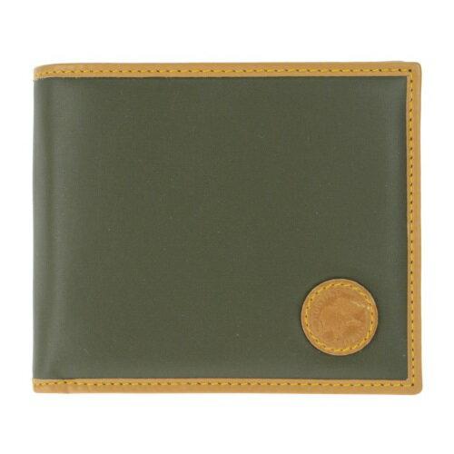 HUNTING WORLD ハンティングワールド 二つ折り財布 メンズ グリーン 310-10A BATTUE ORIGIN