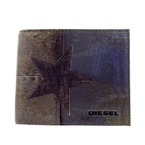 DIESEL ディーゼル 二つ折り財布 メンズ デニムスター X03370 P0408 H6185 Denim Star 【spic】
