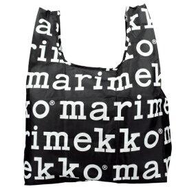 marimekko マリメッコ エコバッグ レディース ブラック/ホワイト 041395 910