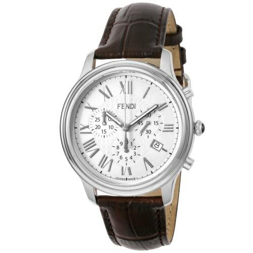 FENDI フェンディ 腕時計 メンズ クラシコクロノ ホワイト F253014021