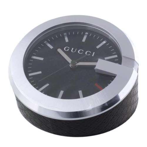 【48時間限定ポイント5倍 8/21 9:59まで】GUCCI グッチ 置時計 ブラック YC210006