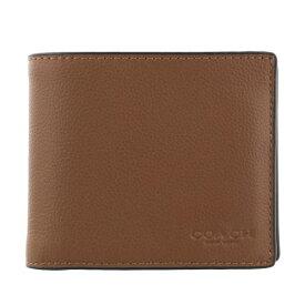 COACH OUTLET コーチ アウトレット 二つ折り財布 メンズ ブラウン F74991 CWH