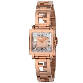 FENDI フェンディ 腕時計 レディース クアドロ ミニ ホワイトパール F605524500