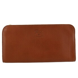 IL BISONTE イルビゾンテ 長財布 メンズ レディース ブラウン C0909-P 214 COGNAC