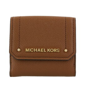 7ca289d5bea6 MICHAEL KORS マイケルコース 三つ折り財布 レディース アウトレット ラゲージ 35F8GYEF2L