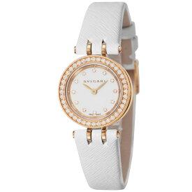 【ポイント5倍 10/17 23:59まで】BVLGARI ブルガリ 腕時計 レディース B-ZERO1 ホワイト BZ23WSGDL/12