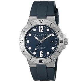 BVLGARI ブルガリ 腕時計 メンズ ディアゴノプロフェッショナル ブラック DP41C3SVSD