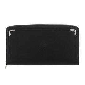 Cartier カルティエ 長財布 メンズ マスト ドゥ カルティエ ブラック L3001489 BLACK/BORDEAUX