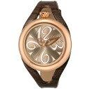 【期間限定ポイント2倍】GaGa MILANO ガガミラノ 腕時計 レディース FLAT 42mm ブラウン 6071.02