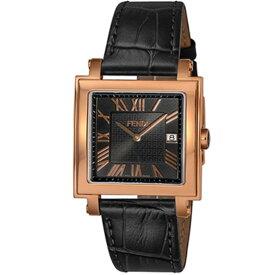 FENDI フェンディ 腕時計 メンズ QUADORO MEN ブラック F604511011
