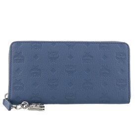 MCM エムシーエム 長財布 レディース ブルー MCMYL8AKM11 HF001 LUFT BLUE