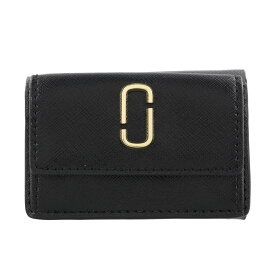 MARC JACOBS マークジェイコブス 三つ折り財布 スナップショット ブラック M0014492 002