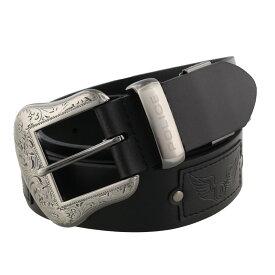【期間限定ポイント10倍】POLICE ポリス ベルト メンズ ブラック PLC204 BLACK