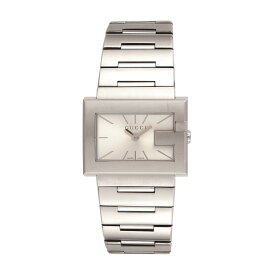 【72時間限定ポイント5倍】GUCCI グッチ 腕時計 レディース Gレクタングル シルバー YA100520