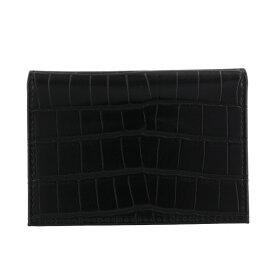 monte SPIGA モンテスピガ カードケース メンズ ブラック MOSQS6181 BLACK