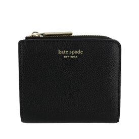 kate spade ケイトスペード 二つ折り財布 レディース ブラック PWRU7160 001 BLACK