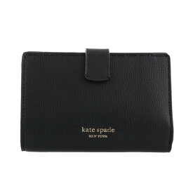 kate spade ケイトスペード 二つ折り財布 レディース SYLVIA ブラック PWRU7230 001 BLACK