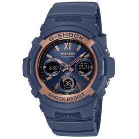 CASIO カシオ 腕時計 メンズ G-SHOCK ネイビー AWG-M100SNR-2AJF Gショック