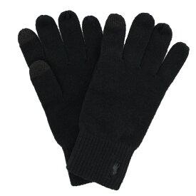 POLO RALPH LAUREN ポロラルフローレン 手袋 メンズ ブラック PC0493