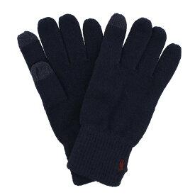 POLO RALPH LAUREN ポロラルフローレン 手袋 メンズ ネイビー PC0493 433 Navy