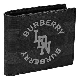 BURBERRY バーバリー 二つ折り財布 メンズ グレー 8022553 A1483 DARK CHARCOAL