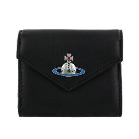 Vivienne Westwood ヴィヴィアンウエストウッド 二つ折り財布 レディース EMMA ブラック 51150008 BLACK