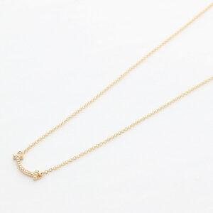 Tiffany&Co. ティファニー ネックレス レディース Tスマイル ミニ ダイヤ 62617780