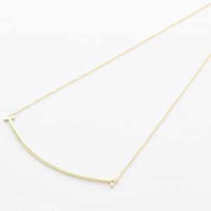 Tiffany&Co. ティファニー ネックレス レディース Tスマイル ラージ 33637179