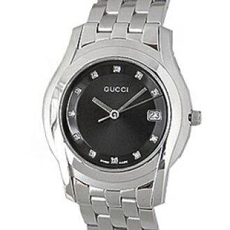 GUCCI Gucci YA055303 # 5505 diamond black men