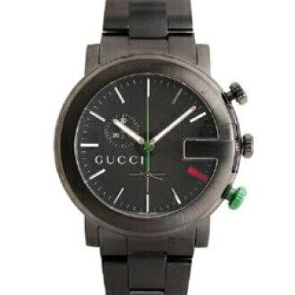 GUCCI Gucci YA101331 # 101 chronograph black mens