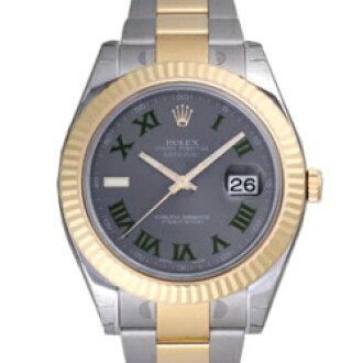 ROLEX Rolex Datejust II 116333 grey mens