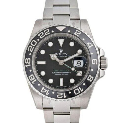 ROLEX ロレックス GMTマスター2 116710LN ブラック メンズ