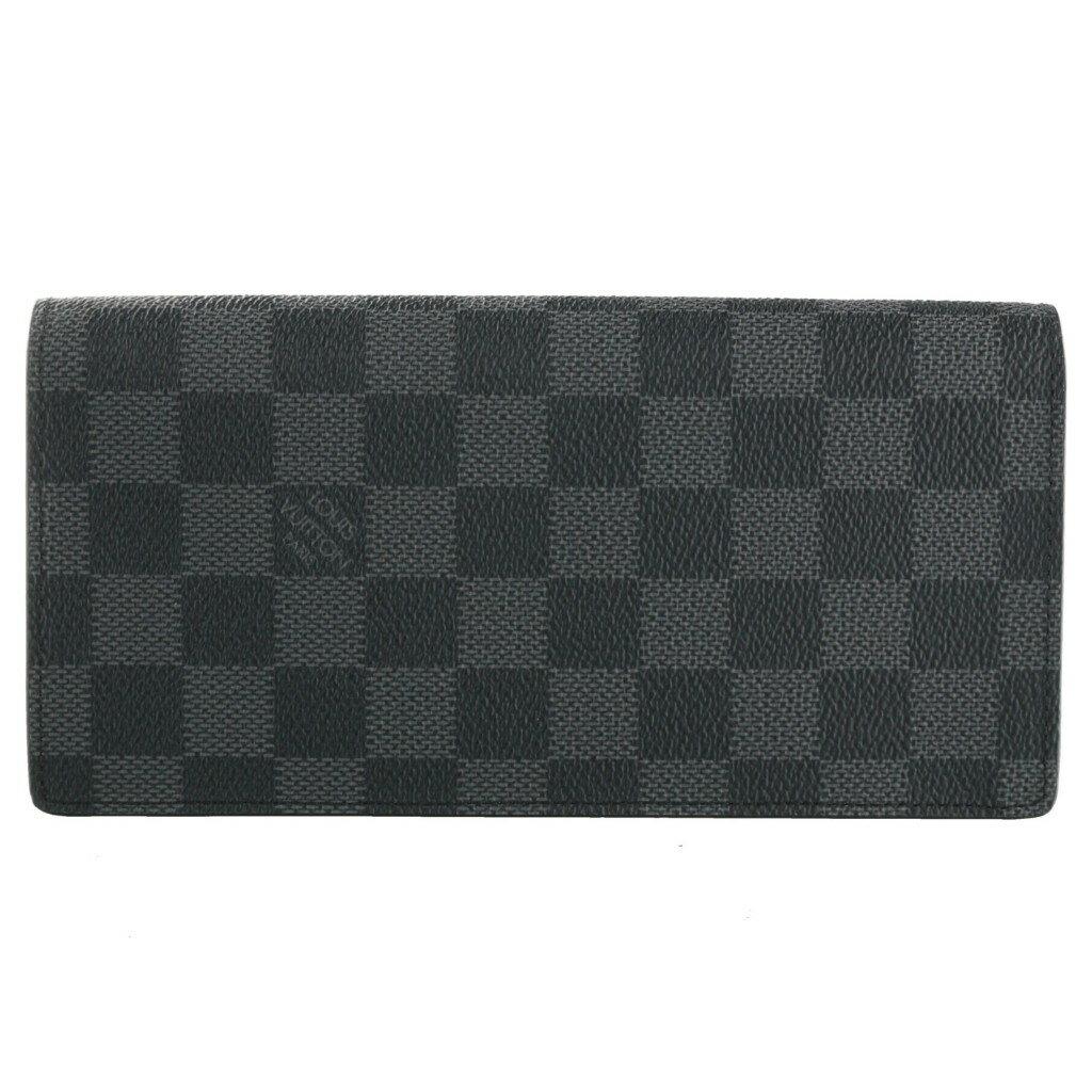 LOUIS VUITTON ルイヴィトン 財布 N62665 ダミエ・グラフィット ポルトフォイユ・ブラザ