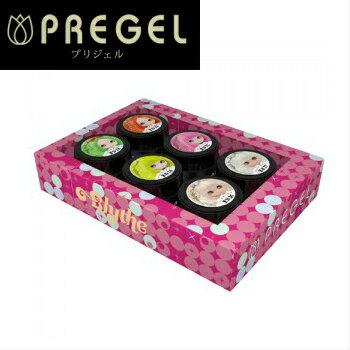 【送料無料】◆ PREGEL (プリジェル) プリマドーリー 6色セット:ブライス ×プリムドール のコラボレーションカラー