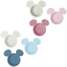 アイコン小皿3枚セット 1個 ミッキーマウス エクリュシリーズ ブルー ピンク ディズニー 日本製 ベビー食器 錦化成 在庫有時あす楽A倉庫