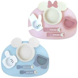 送料無料(一部除く)ディズニー アイコン ランチプレート 1個 ミッキー ミニー エクリュシリーズ 日本製 ベビー キッズ 食器セット 赤ちゃん 子供 錦化成 在庫有時 あす楽A倉庫