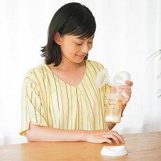 送料無料(一部除く)ピジョンさく乳器母乳アシスト手動搾乳器pigeon母乳実感哺乳瓶・乳首(SSサイズ)付属母乳冷凍冷蔵保存あす楽B倉庫