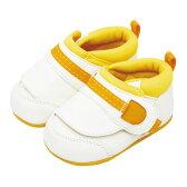 ピジョンpigeon育ち応援シューズ1はじめてたっちホワイトオレンジ13.0cmベビーシューズベビー靴ファーストシューズ出産祝誕生祝ラッピング対応