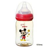 ピジョン母乳実感哺乳びん(プラスチック製ディズニー柄)160mlpigeon哺乳瓶