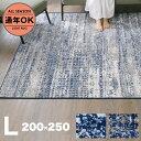 【送料無料】 ラグ [L:200×250cm] ラグマット ミックス ラグ センターラグ 絨毯 じゅうたん ラグ オールシーズン 長…