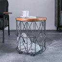 サイドテーブル 収納 かご カゴ バスケット コーヒーテーブル ワイヤーバスケット リビング収納 リビング ヴィンテー…