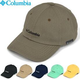 """【SALE】Columbia コロンビア PU5486""""SALMON PATH CAP""""サーモン パス キャップ コットン 6パネル ストラップバック ミニロゴ 刺繍 帽子 アウトドア ストリート メンズ レディース 4カラー 国内正規 10%OFF"""