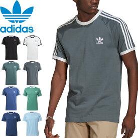 """【SALE】adidas Originals アディダス オリジナルス""""3 STRIPES TEE""""3 ストライプス Tシャツ GN3495 GN3494 GN3479 GN3500 GN3501 FM3771 FM3772 FM3773 コットン 半袖 ストリート スポーツ メンズ レディース ユニセックス 8カラー 国内正規 10%OFF"""