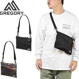"""GREGORY グレゴリー""""CLASSIC SACOCHE M 2L""""クラシック サコッシュM ポーチ ポシェット ショルダーバッグ 耐久性 1094571041 1094580440 1094600511 花柄 メンズ レディース アウトドア 鞄 3カラー 国内正規"""