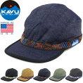 """KAVUカブー110""""STRAPCAP""""ストラップキャップ11863001/19810114コットンキャンバスデニム4パネルキャンプジェットアメリカ製帽子アウトドアメンズレディース6カラー国内正規"""