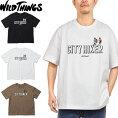 """WILDTHINGSワイルドシングスWT21026K""""CITYHIKERLOGOTEE""""シティハイカーロゴTシャツグラフィックプリントボックスシルエットトップスカットソーストリートアウトドアキャンプメンズレディース3カラー国内正規"""