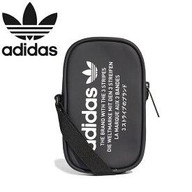 """adidas Originals アディダス オリジナルス DH3218""""NMD POUCH""""ポーチ ショルダーバッグ ポシェット トレフォイル 三つ葉 鞄 メンズ レディース ユニセックス ブラック 国内正規 40%OFF セール"""