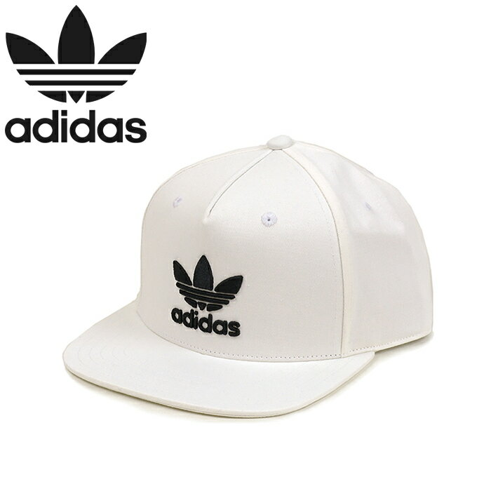 "adidas Originals アディダス オリジナルス""AC TREFOIL FLAT CAP""BK7324 BP9477 BR0439 BK7329 BK7319 トレフォイル スナップバック キャップ フラット ツイル ベースボール 三つ葉 立体刺繍 メンズ レディース ユニセックス 帽子 5カラー 国内正規 20%OFF セール"