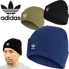 """adidas Originals アディダス オリジナルス""""CUFF KNIT CAP""""カフ ニット キャップ ED8712 ED8713 ED8715 ED8716 ワッチ ビーニー ニット帽 トレフォイル 三つ葉 メンズ レディース 帽子 4カラー 国内正規 10%OFF セール"""