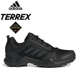 """adidas Performance アディダス パフォーマンス EF3312""""TERREX AX3 GTX""""テレックス GORE-TEX ゴアテックス ハイキング トレイル ランニング シューズ アウトドア スニーカー キックス メンズ レディース 防水 靴 コアブラック/グレーファイブ 国内正規"""